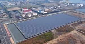 中国電力株式会社 福山太陽光発電所の写真