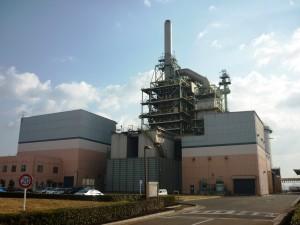 福山リサイクル発電所の写真