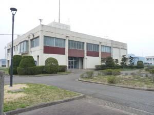 箕島浄水場太陽光発電所の写真