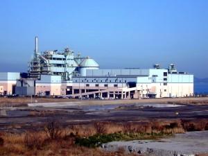 福山市ごみ固形燃料工場の写真