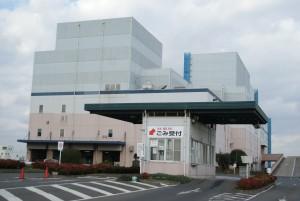 福山市リサイクル工場の写真
