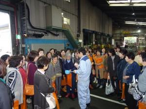 JFEプラリソース(株) 服部学区明るいまちづくり女性会のみな様工場見学のご紹介。の写真